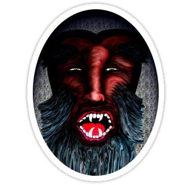 Beasty Boy Sticker by StickerNuts