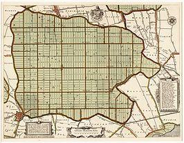 omdat er in de 17de eeuw veel winst kwam door landbouw, hebben handelskapitalisten in 1607 de beemster drooggelegd. door deze drooglegging werd het mogelijk om nog meer landbouwgrond te hebben in NL. het meer werd leeggepompt door molens die steeds water aan elkaar doorgeven. en in 1612 was het meer leeg, en bleek het hele vruchtbare grond te zijn.