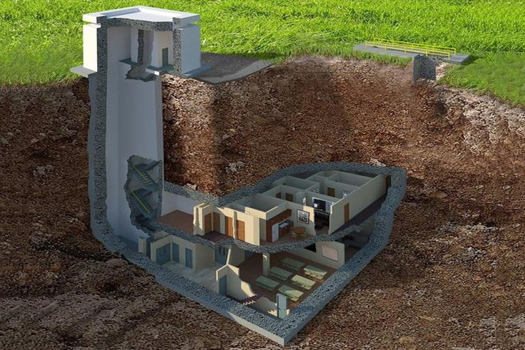 the facility is an underground bunker selling for 17 5 million luxury sale in georgia