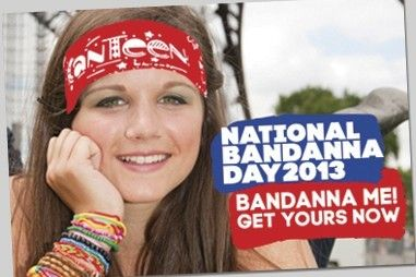 Get Support  Dealing with everything you're feeling, and talking about it, can be really hard - but totally worth it.               Next Previous National Bandanna Day It's not too late to get involved in National Bandanna Day and help CanTeen support young people living with cancer. There are three easy ways to take part --Oct 25th