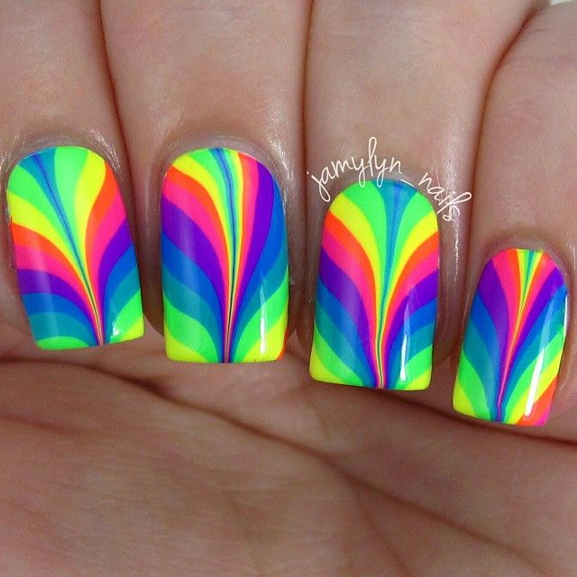215 best watermarble nails images on pinterest html marbles and gorgeous rainbow water marble nail art i got the pipedreampolish anivc in the mail prinsesfo Image collections