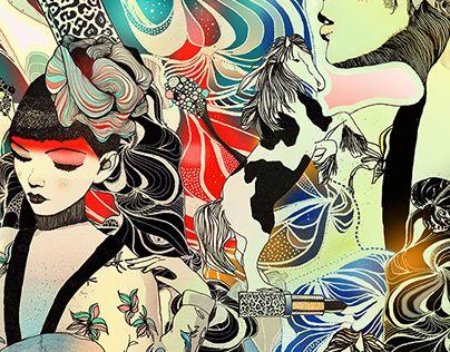 "Check out new work on my @Behance portfolio: ""beforehorsefight"" http://be.net/gallery/38498825/beforehorsefight"