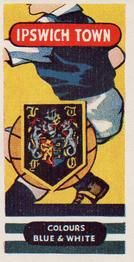 1958 Football Clubs and Badges #4 Ipswich Town Front