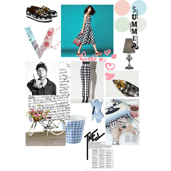 vichy !! by sabe-bela on Polyvore featuring moda, Dolce&Gabbana and Vichy