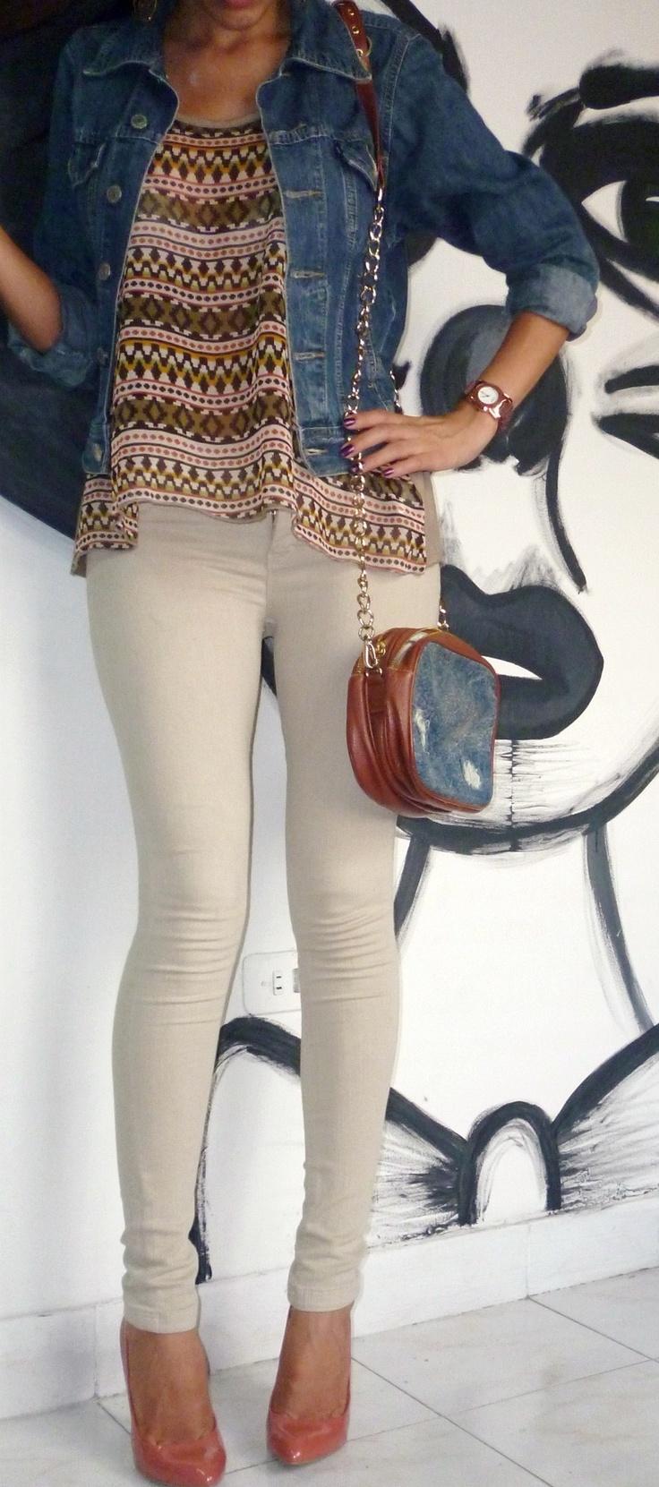 Americanino  Jackets, Studio F  Bags and Bershkabershka  Pants