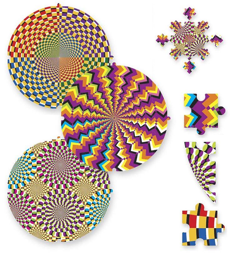 Kaleidoscope Ca: Kaleidoscope Mandalas Puzzle Set