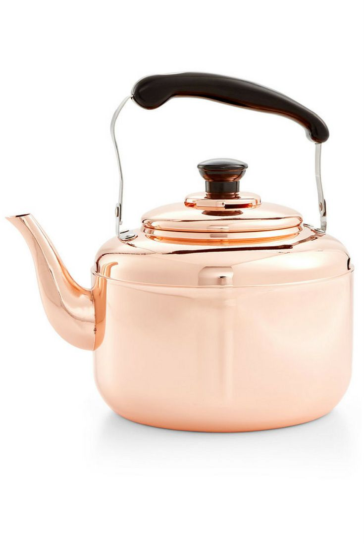 best  copper tea kettle ideas on pinterest  tea kettles  - copper tea kettle love the brightness this piece will bring to thestovetop