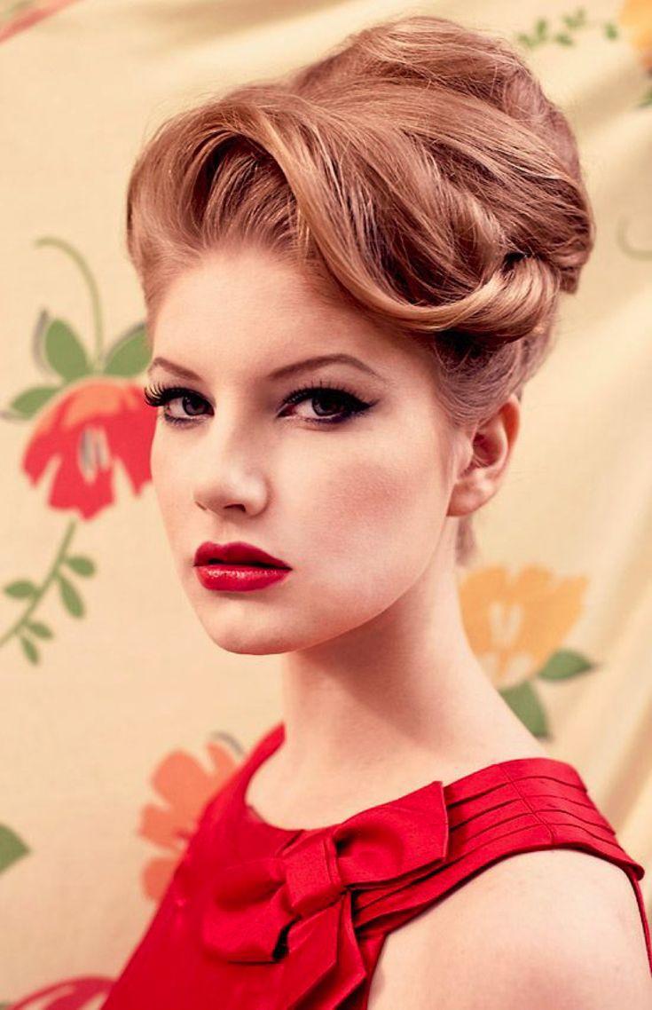 1940s Hair and Makeup  http://idrawpinups.com  http://pinupnet.com  @Pinup Artists Network  #pinup #pinupgirl