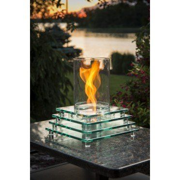 Allure Sedona Table Top Firepit Outdoor Fireplaces Pinterest