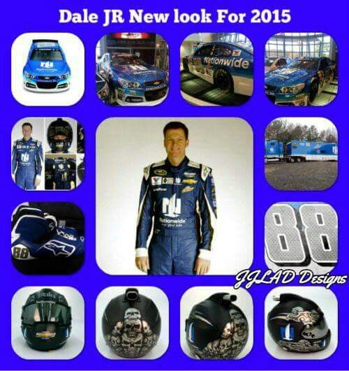 Dale Jr's new look for 2015 .    #DALEJR2015  http://www.pinterest.com/jr88rules/dale-jr-2015/