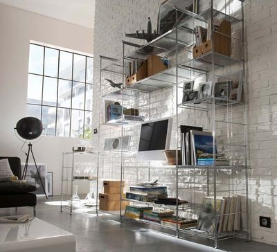 17 best images about meuble tv bibliotheque on pinterest - Castorama bibliotheque etagere ...