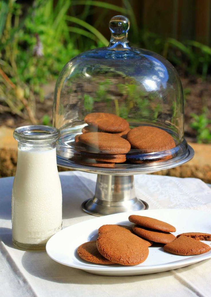 Ginger Nut Biscuits (Cookies) - Cooking with Tenina Excellent - made without the lemon oil and cinnamon