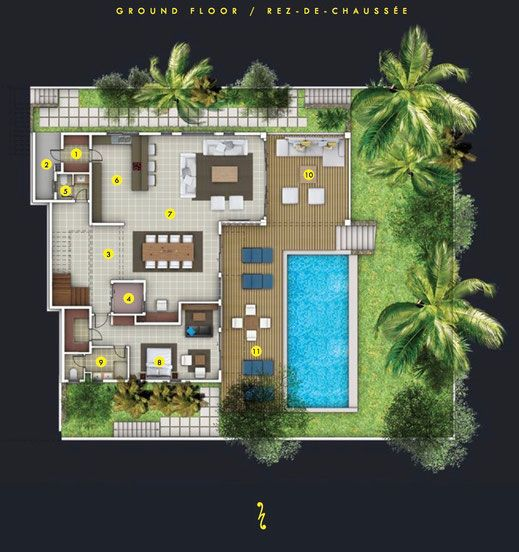 16 best Plan images on Pinterest Mansions, Villa and Villas