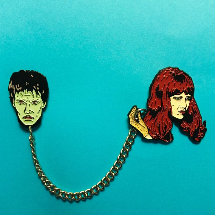 """The Cramps, """"I'm Cramped"""" - Lux & Ivy Pin Set / Mood Poison"""