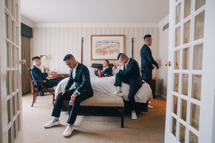 Groom and Groomsmen at the #Sutton place hotel. Vancouver wedding photography and videography by SoWedding  www.sowedding.ca/