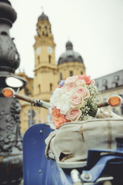 Munich vintage wedding