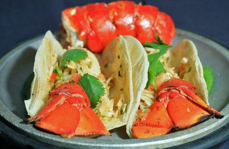 Mmmmm Taco de Lagosta