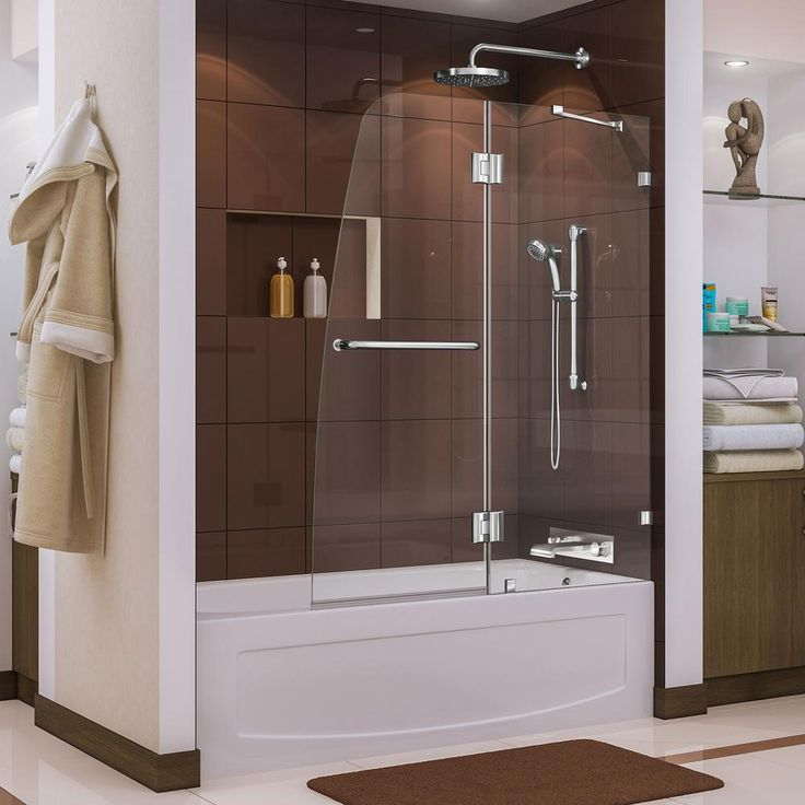 27 best DreamLine Bathtub Doors images on Pinterest | Brushed nickel ...