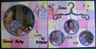 A Pretty Talent Blog: Scrapbooking 14: Using Circles in Your Layout