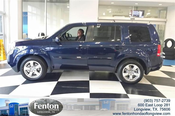 Congratulations to Angela Jones on your #Honda #Pilot purchase from Jose Valenzuela at Fenton Honda of Longview! #NewCar