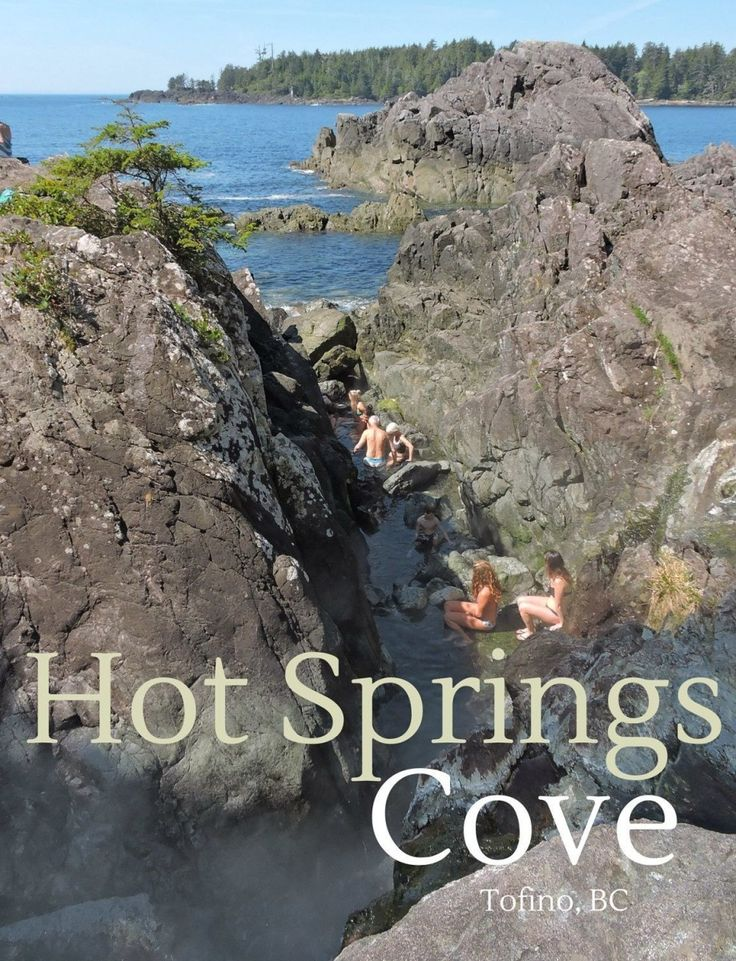 An Island Adventure to Hot Springs Cove is truly an unforgettable West Coast experience. Breathtaking scenery and stunning wildlife, this trip has it all! #explorevancouverisland