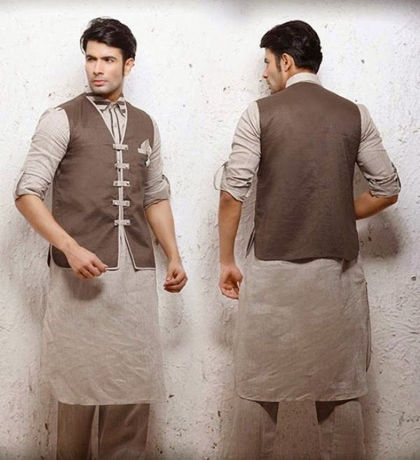 Latest Men Kurta Designs | Men Kurta Collection 2014 for Summer Season