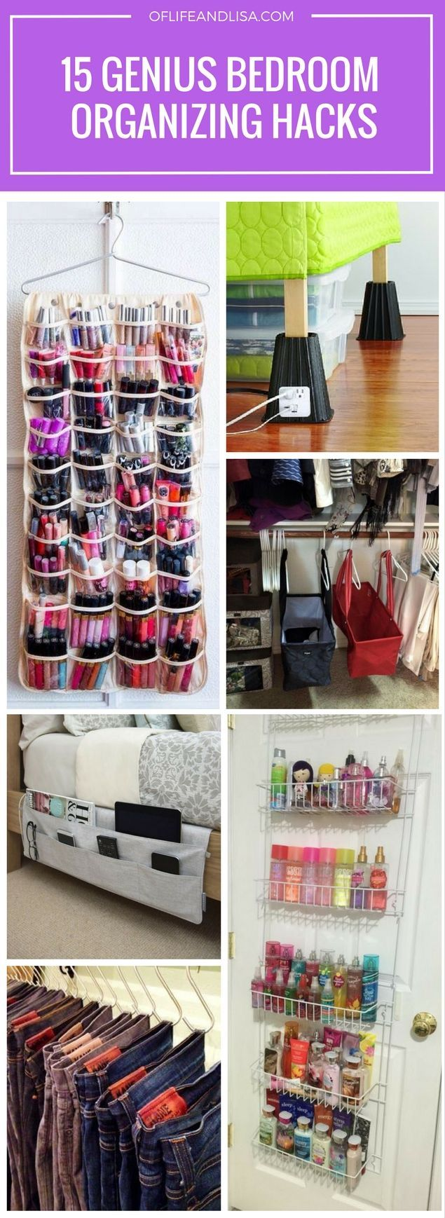 Bedroom organizing ideas that will save you a ton of space!