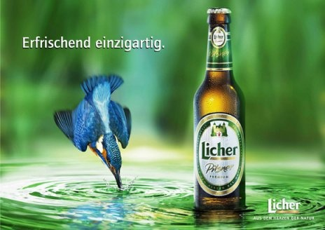 Licher Bier!!  Aus dem Herzen der Natur
