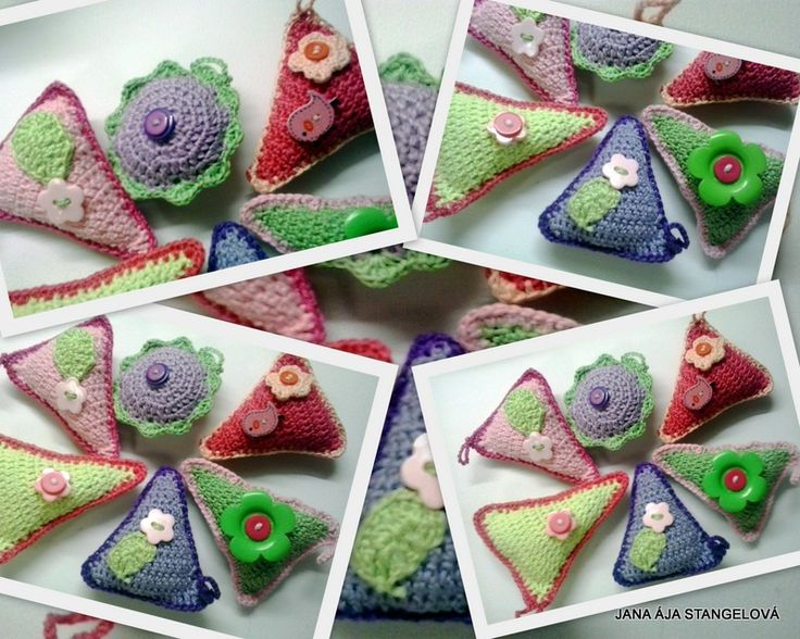Aromatic small bags with lavender