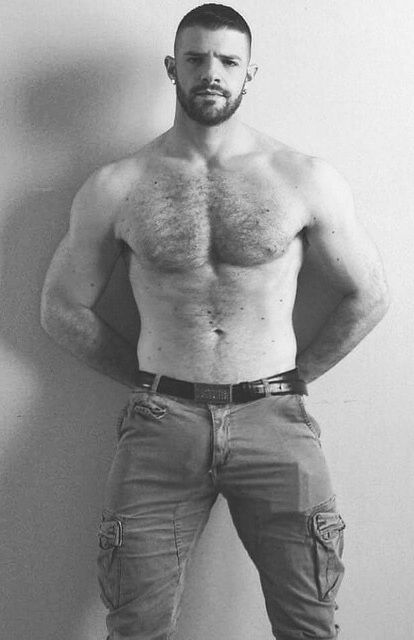 Amusing opinion naked hairy chested muscle men