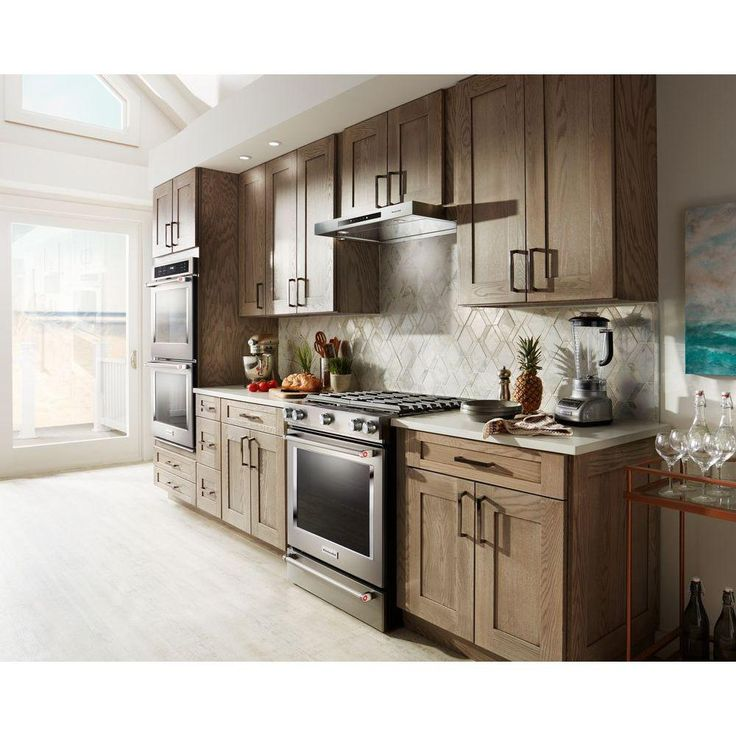 Kitchenaid 36 in low profile under ventilation