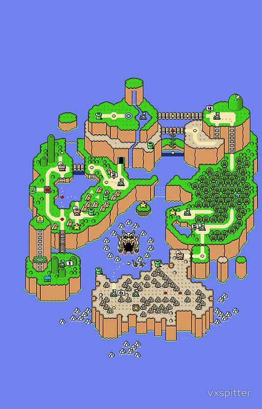 Super Mario World's Map !