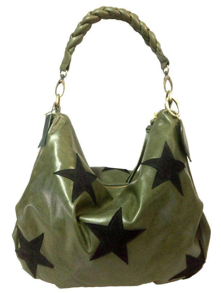 emybag emy bag stars gr n schwarze sterne fab by. Black Bedroom Furniture Sets. Home Design Ideas