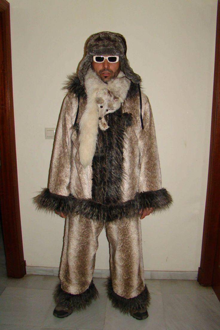 Disfraz esquimal  #disfraz #carnaval #costume #makeup #diy #handmade #original #group #grupo #couple #esquimal #eskimo