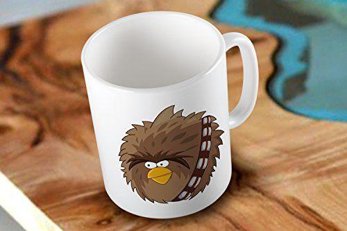 Chewbacca Star Wars The Force Awakens Two Side White Coffee Mug with Low Shipping Cost Mug http://www.amazon.com/dp/B019PZU8BG/ref=cm_sw_r_pi_dp_JB2Ewb13RFQYD #mug #coffeemug #printmug #customMug #mug #starwars #rebels #theforceawekens