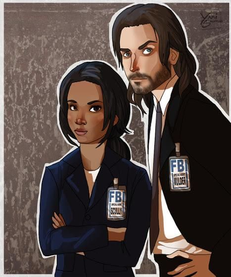 Look what I found, the best of references.Just perfect #SleepyHollow #XFiles @SleepyAddicts @SleepyHollowFOX #Ichabie