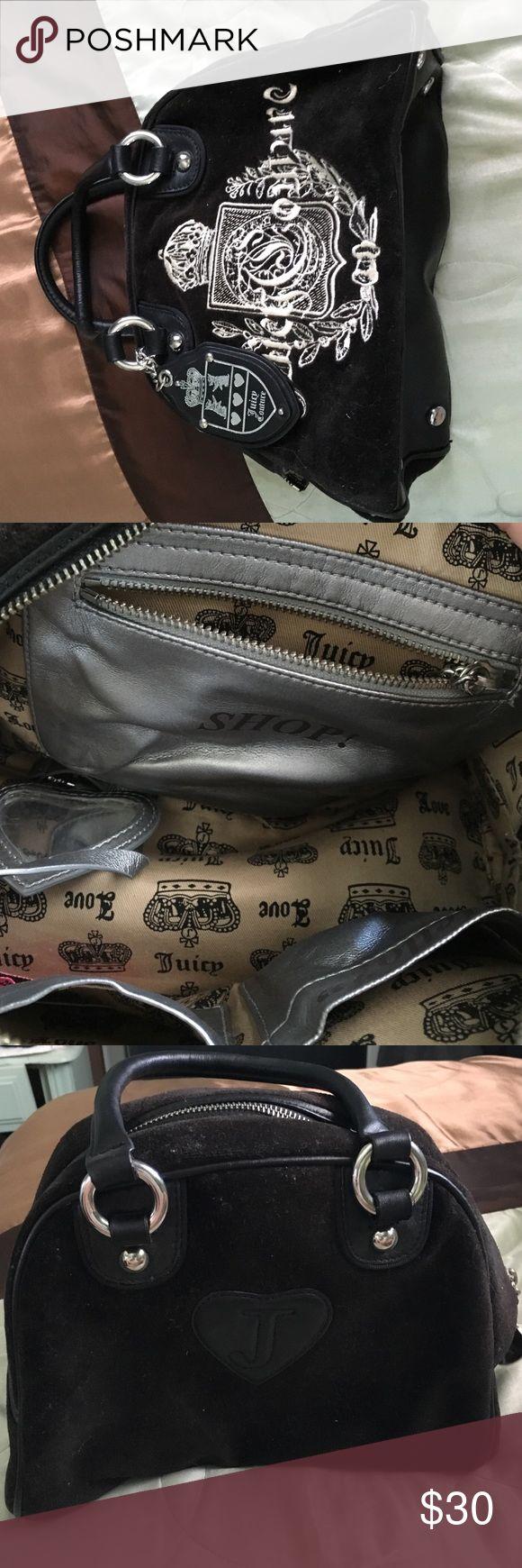 Juicy couture bowler bag Black juicy couture bowler bag Juicy Couture Bags Totes