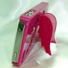 Telefonunuzu melekler korusun... iphone 4 ve 4s içindir Renk: Koyu pembe Kanatları açık konumdayken telefonu dik tutarak video ya da görsel izlemenizi sağlar.