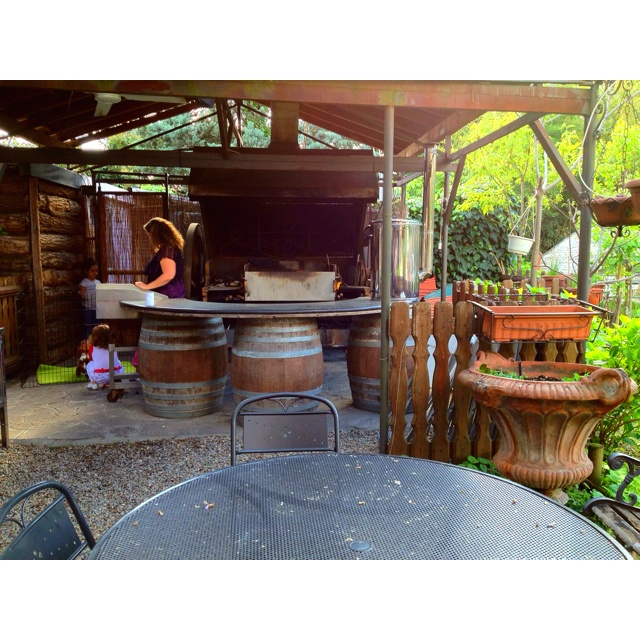 Ultimate outdoor cooking area live pinterest for Outside cooking area