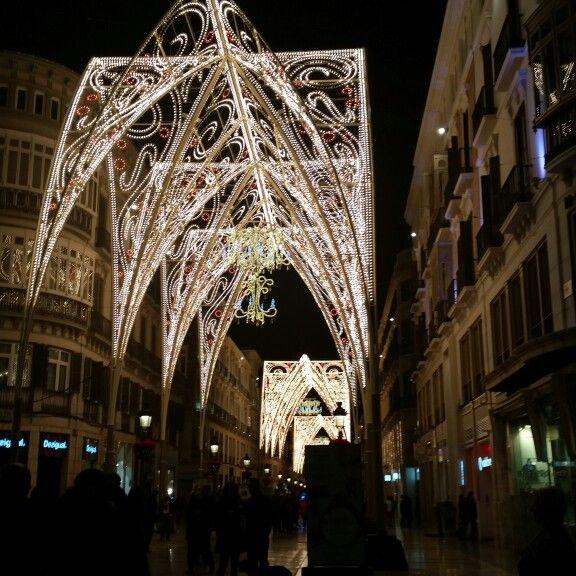 Christmas Lights, Malaga