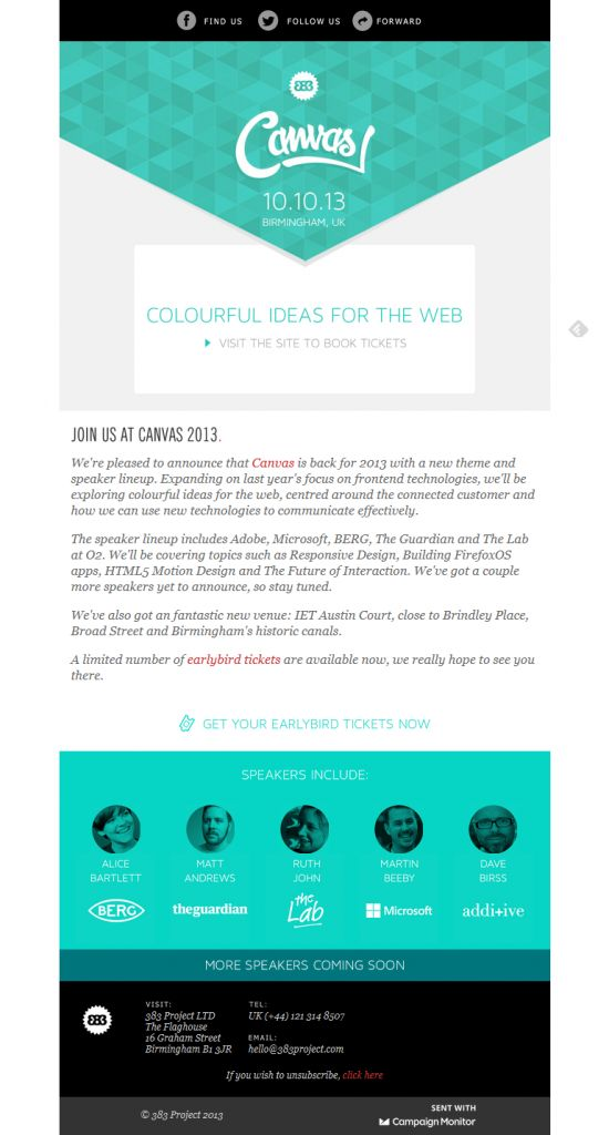 16 best Email template inspiration images on Pinterest | Email ...