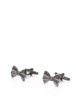 Bow tie cuff links... Perfect for a tuxedo store!