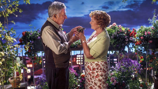 Dustin Hoffman and Dame Judi Dench in Esio Trot. Lovely, lovely, lovely. Probably the best thing on TV over Christmas.