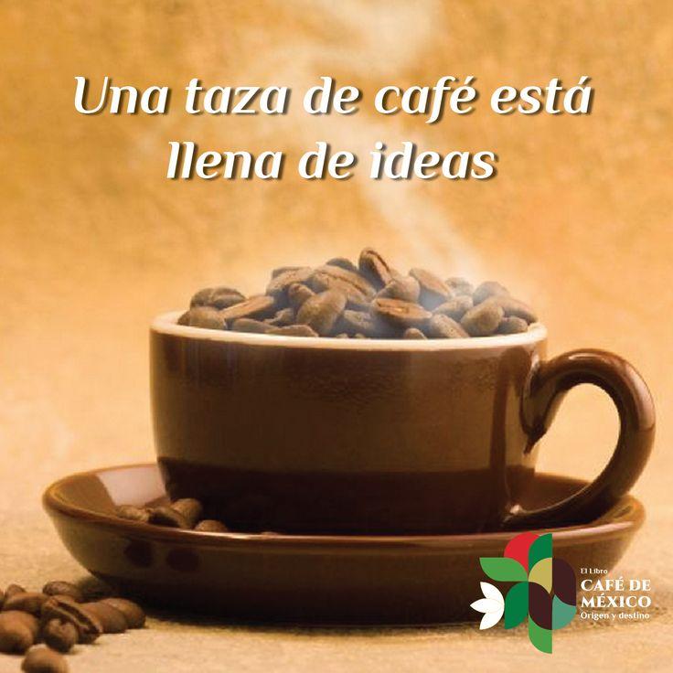 Una taza de caf est llenas de ideas amantes del for Tazas para cafe espresso