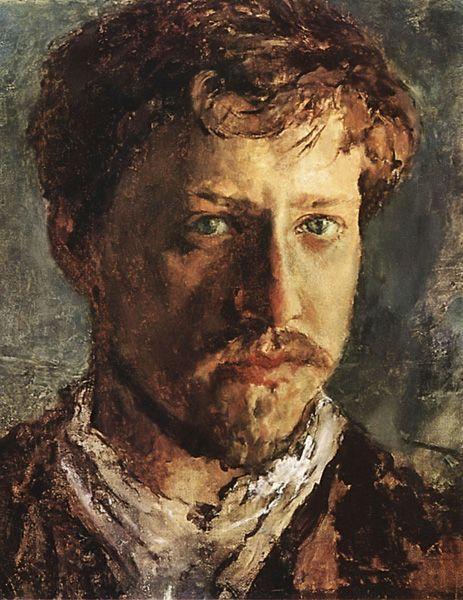 Self Portrait  Valentin Alexandrovich Serov: