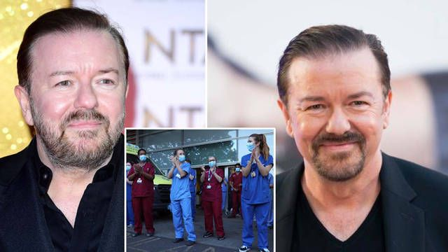 Ricky Gervais Wants Celebrities Banned From New Year Honours List In Favour Of Nhs Heroes In 2020 Comedians Ricky Gervais Celebrities