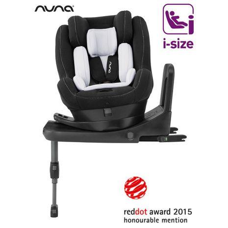 Accesorii bebelusi :: Scaune auto copii :: Scaune auto rear facing :: Nuna - Scaun auto cu isofix REBL 360 iSize Caviar