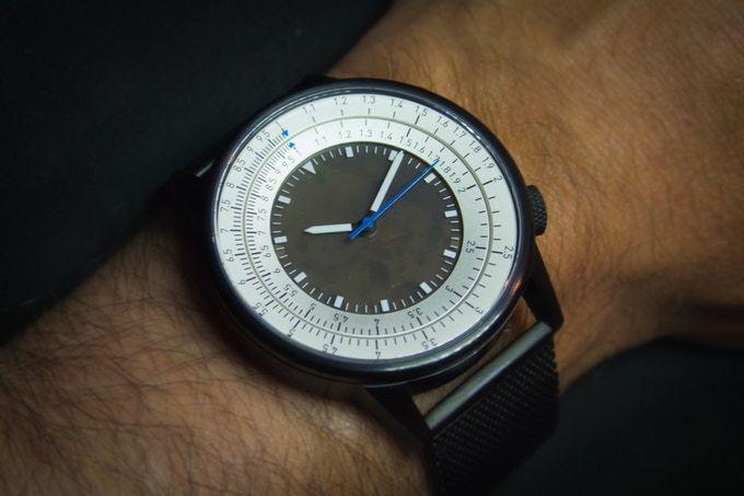 Slide Rule Watch by Caliper Timepieces Inc. — Kickstarter