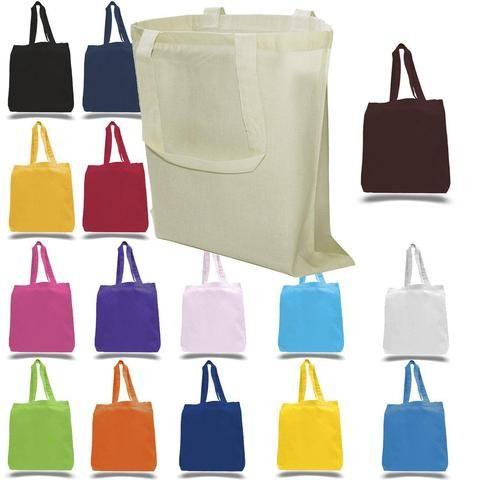 cotton tote bags bulk