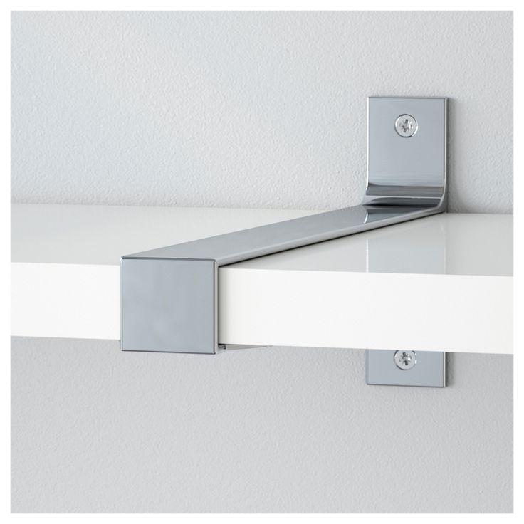 IKEA EKBY BJÄRNUM jointing bracket Connects 2 shelves for a larger shelf combination.